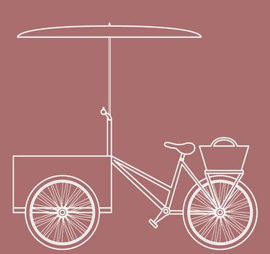 Bespoke ice cream bike product promotion