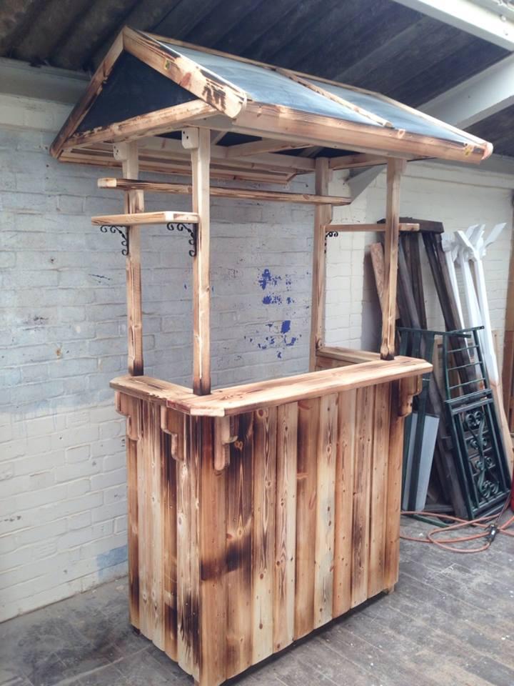 Bespoke Wooden Garden Drinks Bar · 12